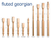 Fluted Georgian