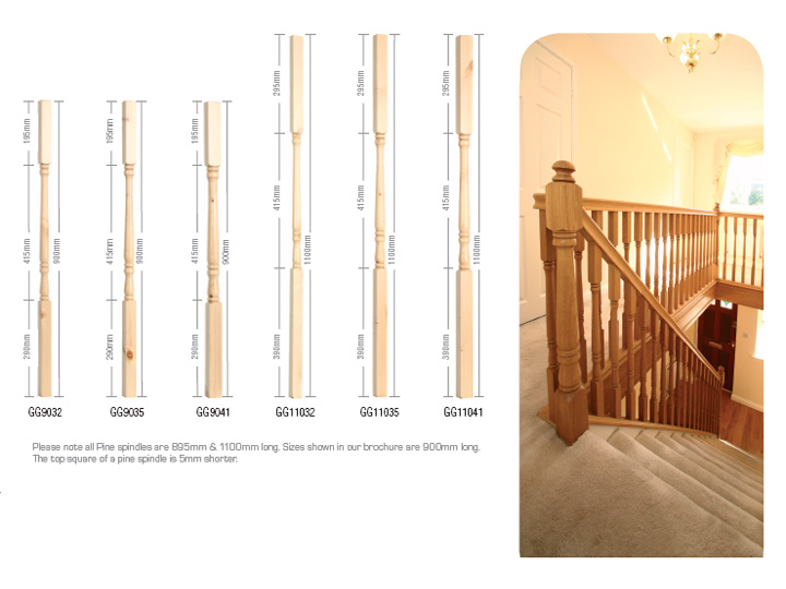 Georgian topflite stairs ltd for Georgian staircase design