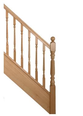 Hemlock staircase